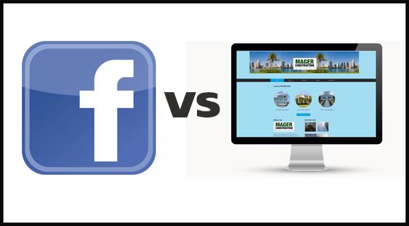 Facebook Page Vs Website