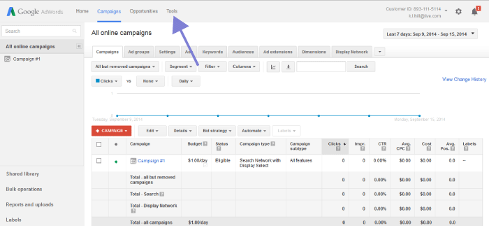 How To Use Google Keyword Planner 03