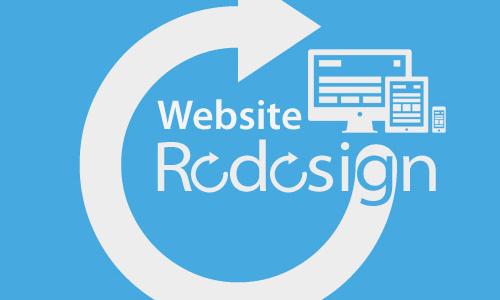 Thiết kế lại trang web
