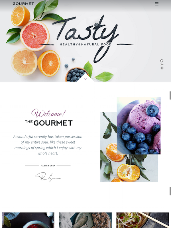 Tasty Altervative Just Another Gourmet WordPress Theme Sites Site