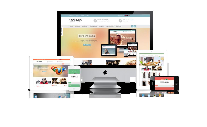 Thiết kế web công ty, doanh nghiệp tương thích mọi thiết bị giải pháp đột phá doanh thu