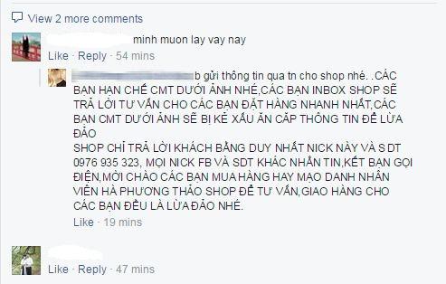 Cuop Khach Ban Hang Online