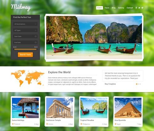 Mẫu thiết kế website du lịch đẹp nhất