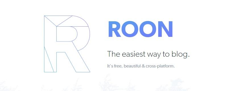 Roon Io Blogging Platform1