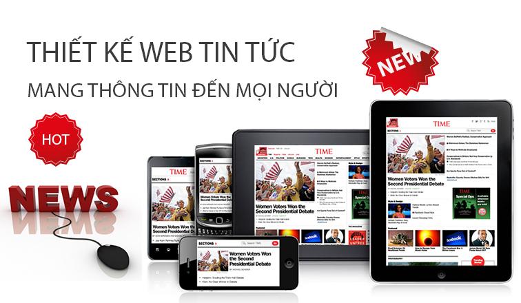 Thiết kế website tin tức hiển thị mọi trình duyệt