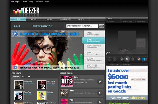 thiết kế web âm nhạc, ca sĩ, nhạc sĩ