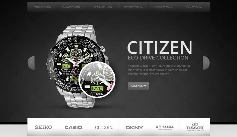 Thiết kế website bán đồng hồ chuyên nghiệp