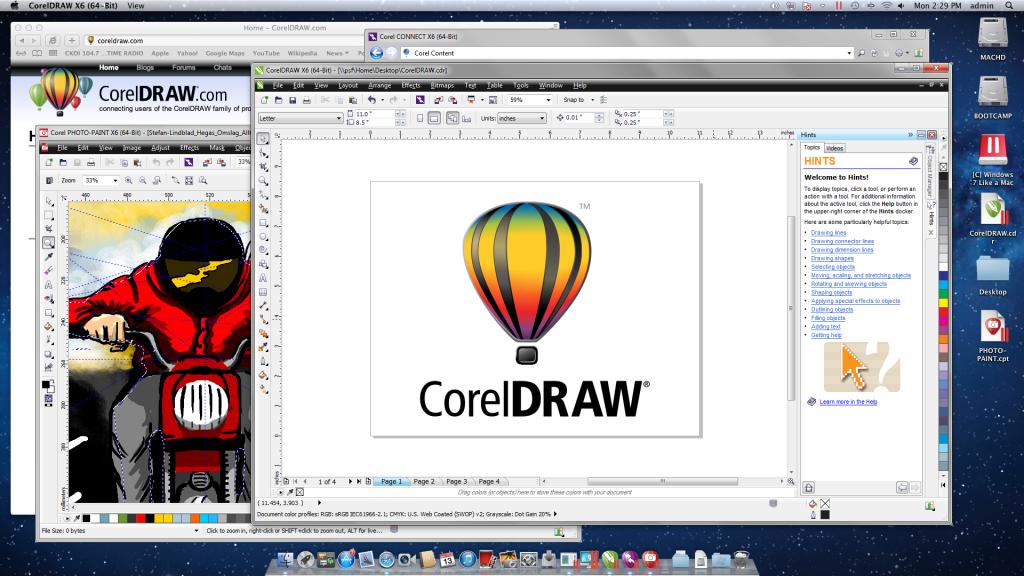8508.CorelDRAW X6 On Mac