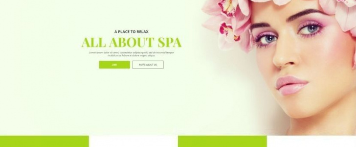 Therma Spa Beauty Cosmetic WordPress Theme