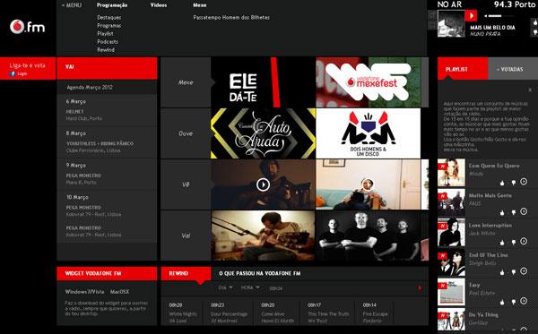 Mẫu website âm nhạc chuyên nghiệp