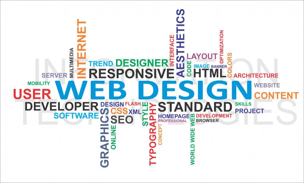 Word Cloud Web Design
