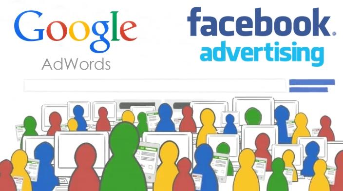Quang Cao Google AdWords Hay Quang Cao Facebook