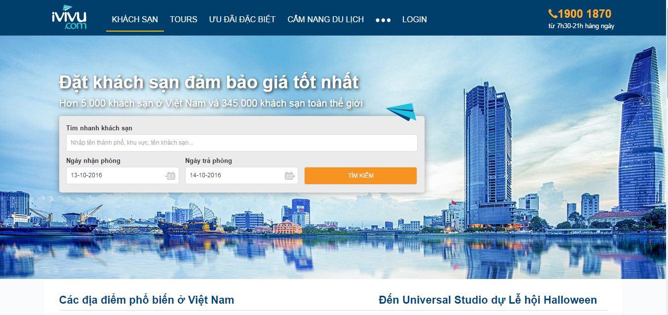 Các tiêu chuẩn khi thiết kế web du lịch, khách sạn chuyên nghiệp