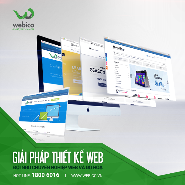 thiết kế web chuyên nghiệp