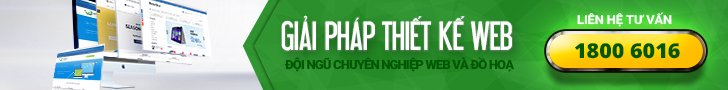Thiết kế website chuyên nghiệp