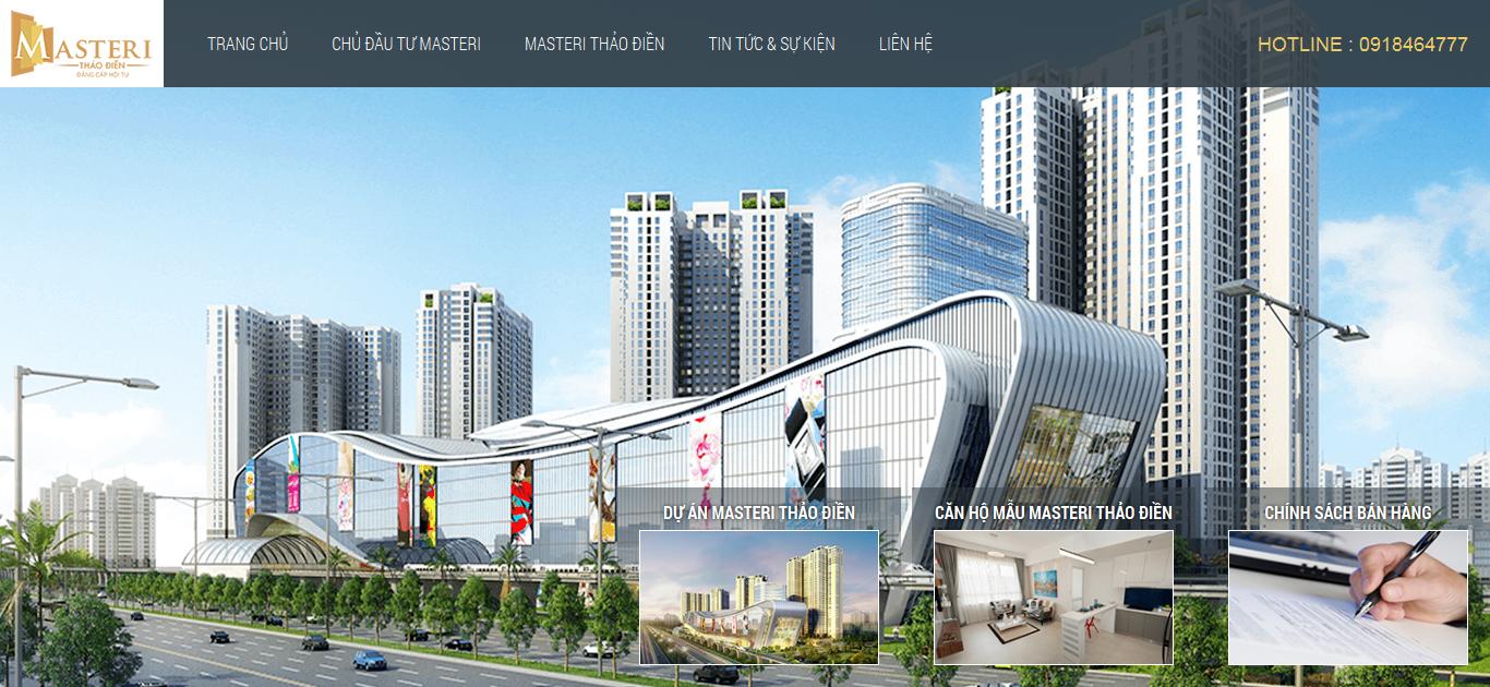 Hình ảnh mẫu website bất động sản #199