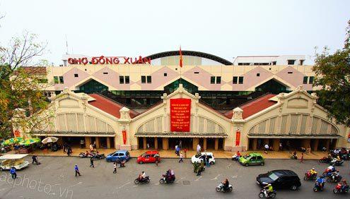 Chợ Đồng Xuân - Hà Nội