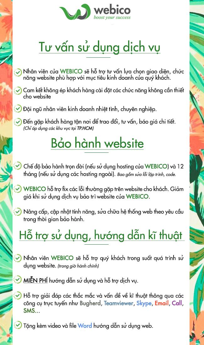 Một số lợi ích khi thiết kế web cùng WEBICO