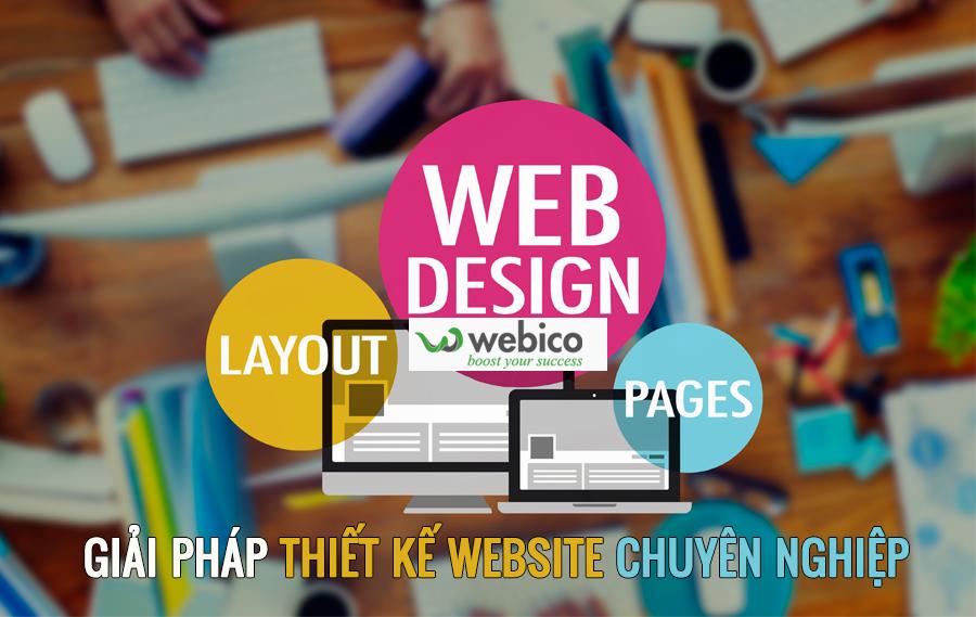 Webico - Giải pháp thiết kế website chuyên nghiệp