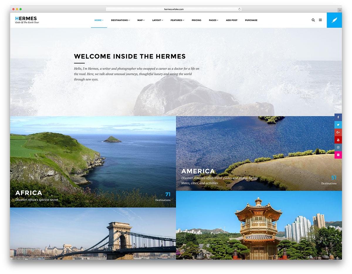Giao diện thiết kế web thoáng do biết cách sắp xếp, khá đơn giản nhưng đầy đủ thứ bạn cần