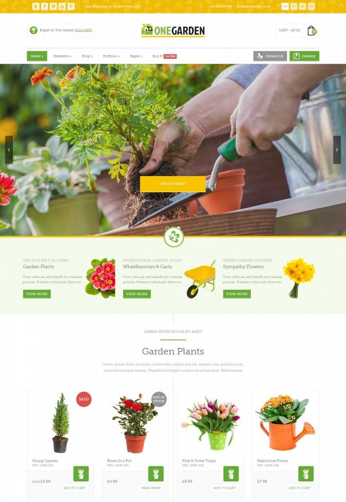 Thiết kế web bán hoa tràn ngập sắc màu với giao diện được sắp xếp một cách bắt mắt