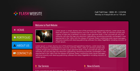 1 HomePage. Large Preview