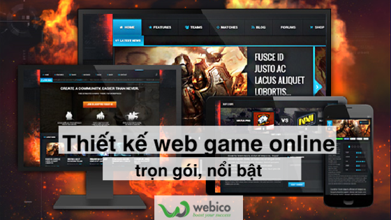 Thiết Kế Web Game Online