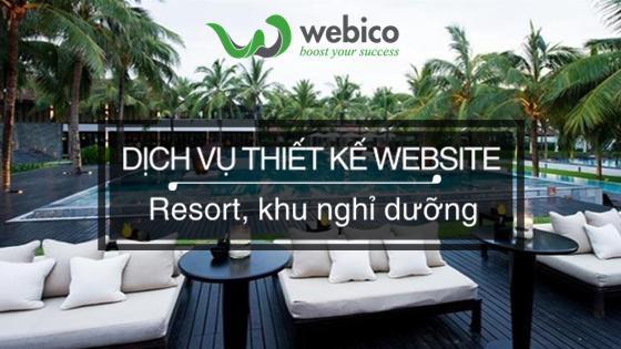 Thiet Ke Website Resort