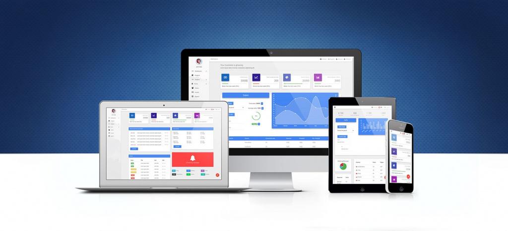 Admin Dashboard Bootstrap