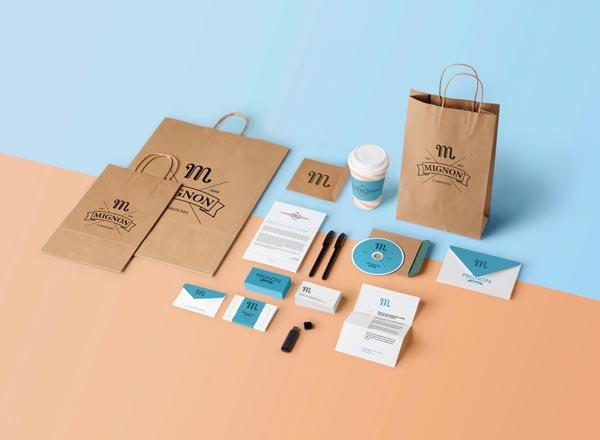Thiết kế logo, bộ nhận diện thương hiệu giúp khẳng định các giá trị cốt lõi mà một doanh nghiệp có thể mang lại cho khách hàng