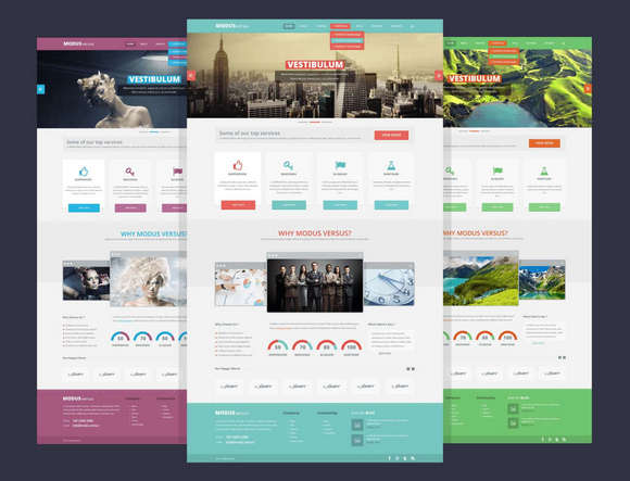 Flat Web Templates Design Nd4xt99f