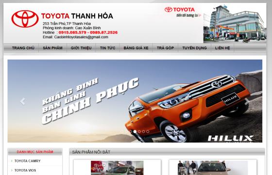 Thiết kế web Thanh Hóa