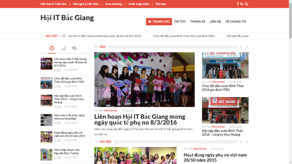 Website Hoi IT Bac Giang