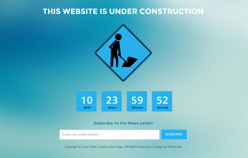 Cool Under Construction Page