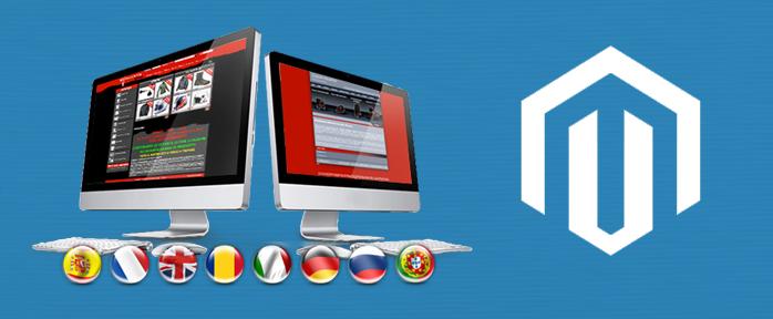 Magento Multilingual Website