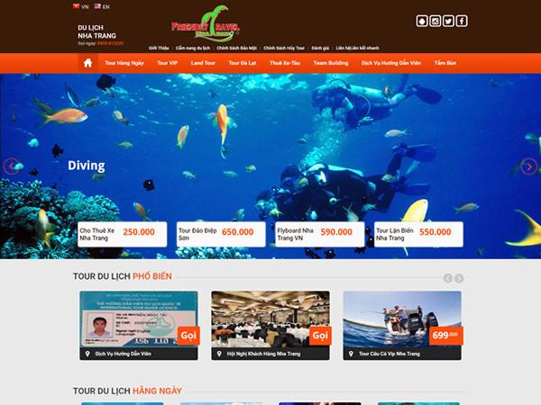 Thiết kế websitetại Nha Trang