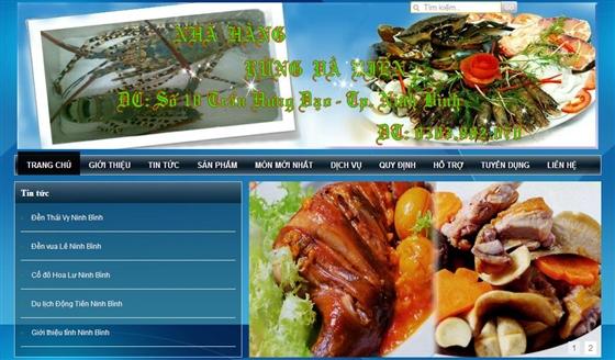 Thiet Ke Website Du Lich Rung Va Bien 1