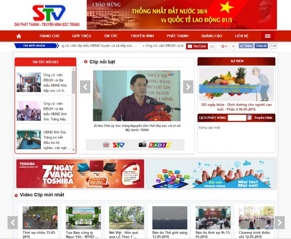 Web Dai Truyen Hinh