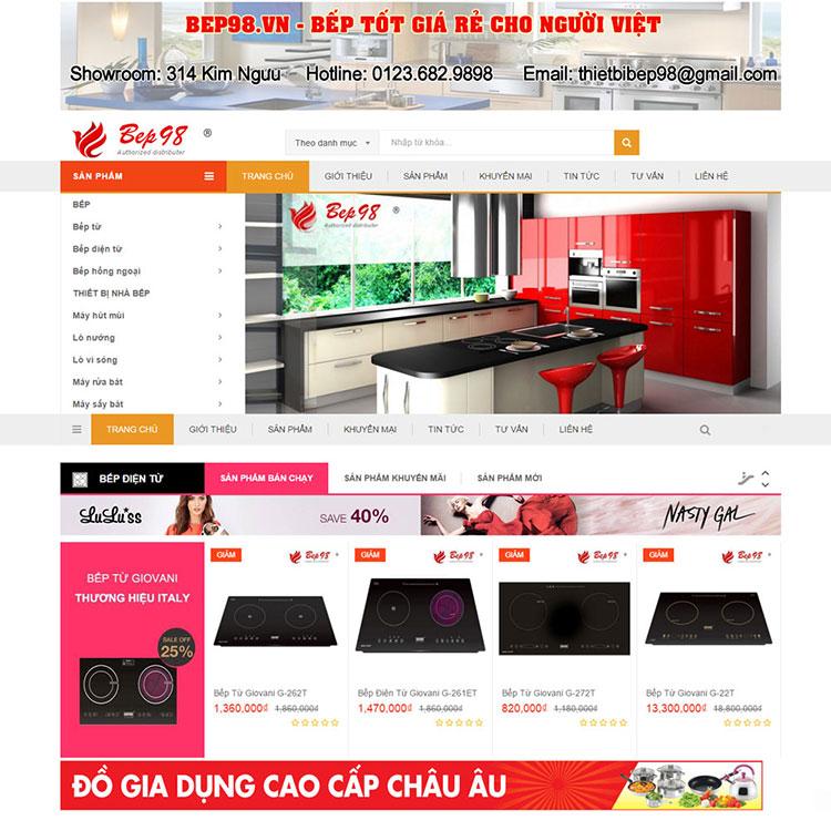 Web Do Gia Dung Bep98