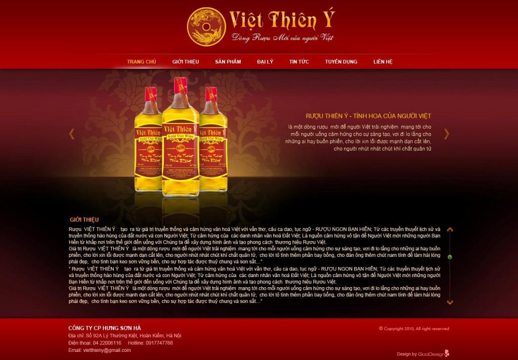 7 Mau Website Dep Chuyen Nghiep Cho Cua Hang Ban Ruou 5