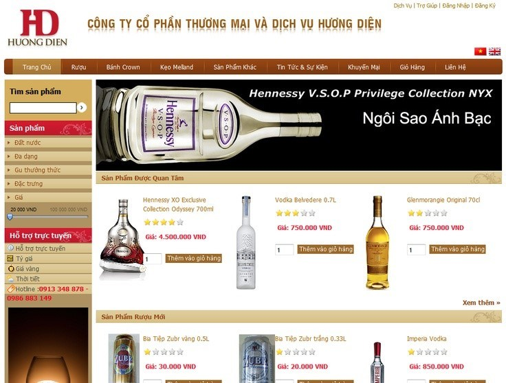 7 Mau Website Dep Chuyen Nghiep Cho Cua Hang Ban Ruou 6