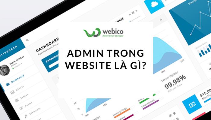 Admin Trong Website