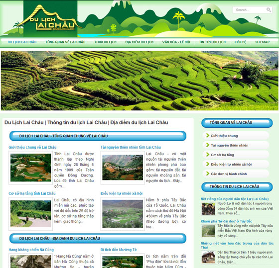 Thiết kế web Lai Châu