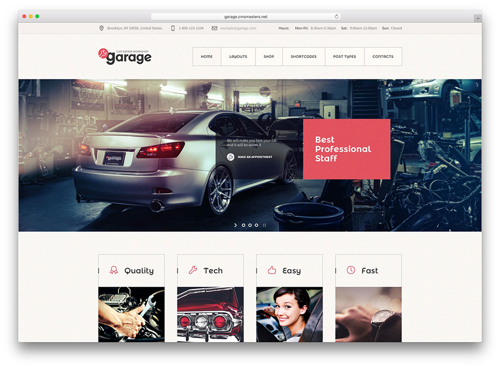 Top 5 m u website kinh doanh xe t xe h i sang tr ng v for Garage automobile reparation