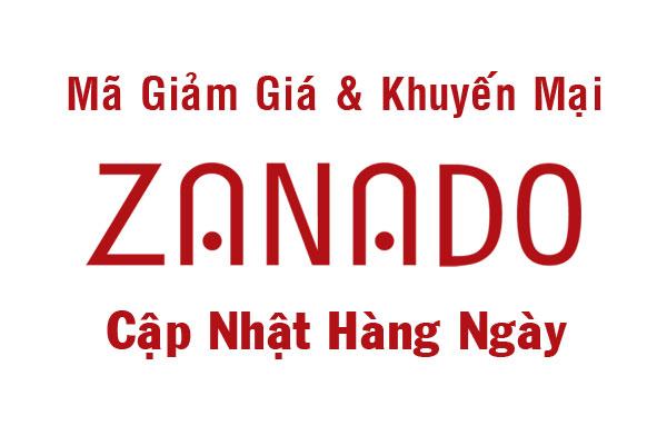 Ma Giam Gia Zanado Khuyen Mai