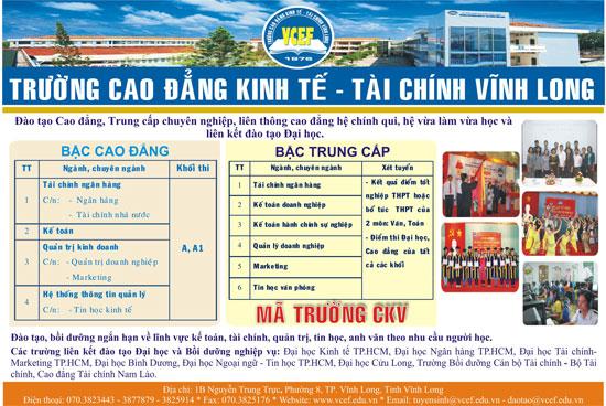 Truong Cao Dang Kinh Te Tai Chinh Vinh Long 1