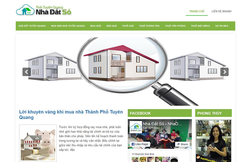 Tuyen Quang Nha Dat So