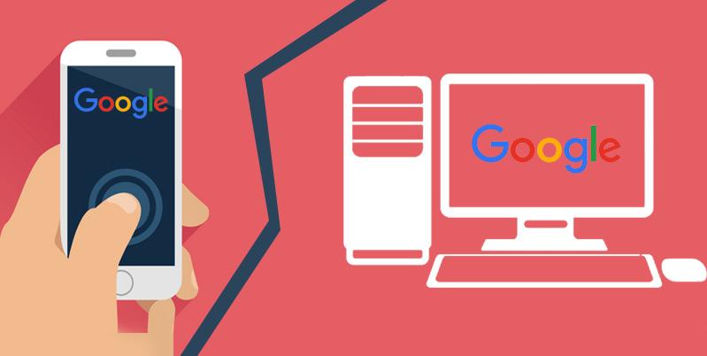 Google Split Sech Index Mobile Desktop