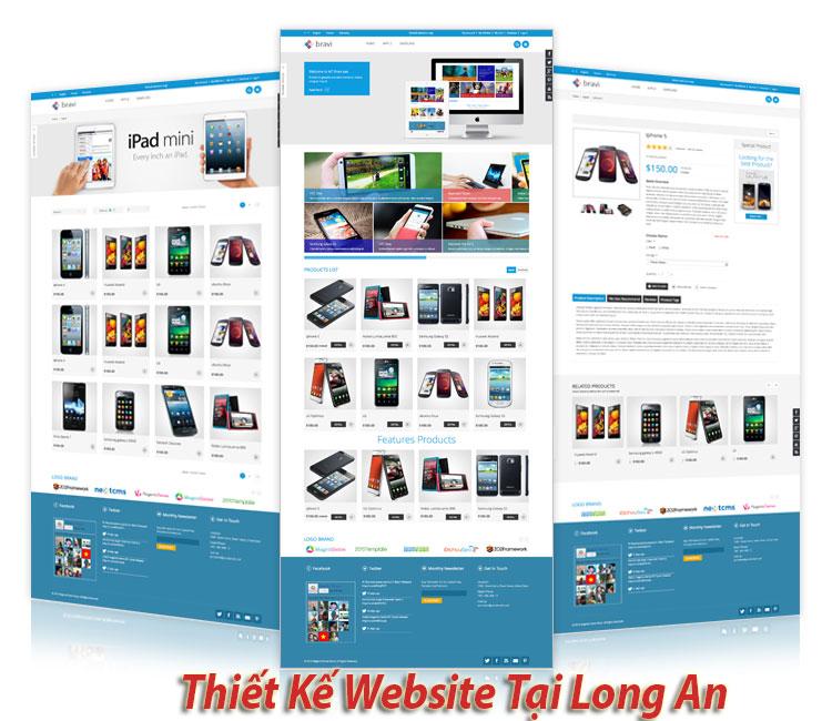 Cong Ty Thiet Ke Website Gia Re Tai Long An