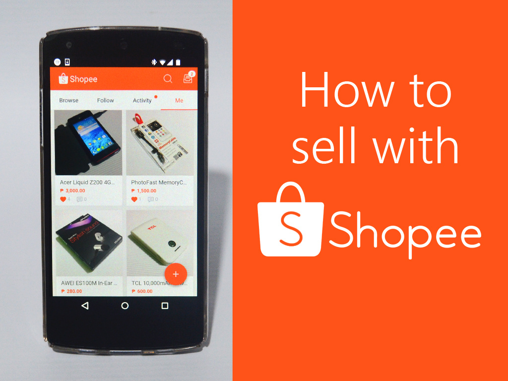 How To Sell With Shopee